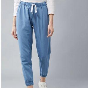 Denim Blue Track Pant